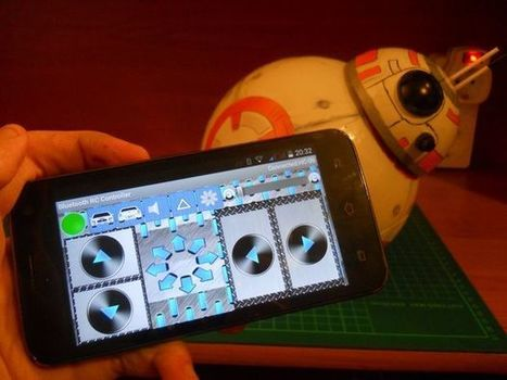 DIY Bluetooth Phone Controlled BB-8 Droid with Arduino UNO | Open Source Hardware News | Scoop.it