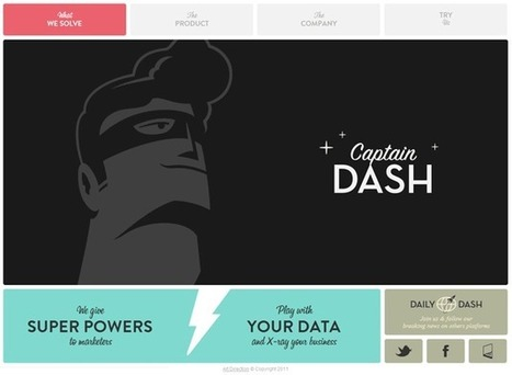 10 web design de qualité #2 | WebDesignWeb | webdesign | Scoop.it