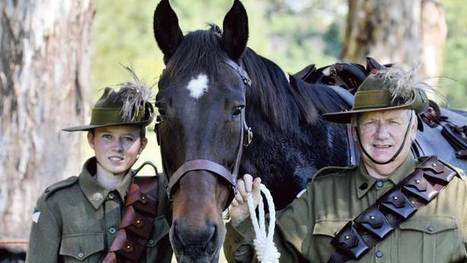In honour of the light horse - The Maitland Mercury | world war history | Scoop.it
