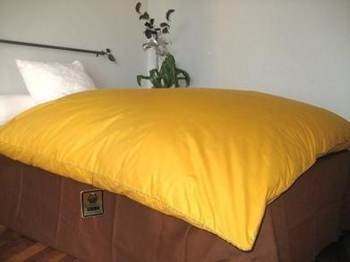 edredon gonflant en plume et duvet couleur ho. Black Bedroom Furniture Sets. Home Design Ideas