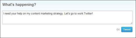 10 reasons why Twitter is content marketing's best friend | Social Media, SEO, Mobile, Digital Marketing | Scoop.it
