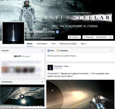 INTERSTELLAR: Esperienza Immersiva « Transmedia Hunter | Cross-media & Transmedia | Scoop.it