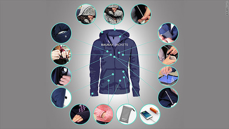 This travel jacket does 15 things at once | Mikron Digital Imaging | Scoop.it