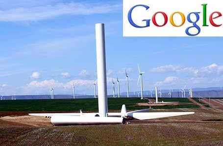 "Google invests $100m in the world's largest wind farm | ""Environmental, Climate, Global warming, Oil, Trash, recycling, Green, Energy"" 