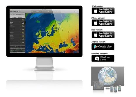 MeteoEarth.com - Interactive 3D globe brings weather to life | CULTURE MARITIME | Scoop.it