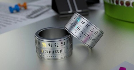 """Ring Clock: One LED Finger-Mounted Watch to Rule Them All 
