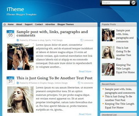 iTheme Blogger Template | Blogger themes | Scoop.it