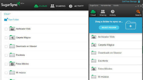 SugarSync 2.0, la nueva beta del disco virtual hace más fácil sincronizar carpetas | Recull diari | Scoop.it