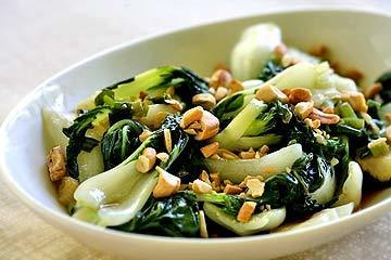 Baby Bok Choy with Cashews   Healthy Whole Foods   Scoop.it