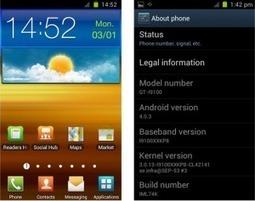 Nuevas Roms de Ice Cream Sandwich para Galaxy S 2 | VIM | Scoop.it