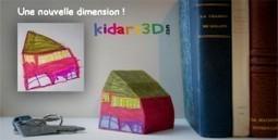 Kid Art 3D - Impression 3D de l'imaginaire de nos enfants | Impression 3D | Scoop.it