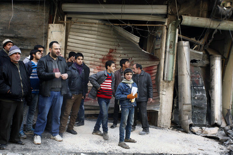'Barrel bombs' just another symbol of brutality in Syrian civil war   Egypt and Syria- Annalee Eigo   Scoop.it