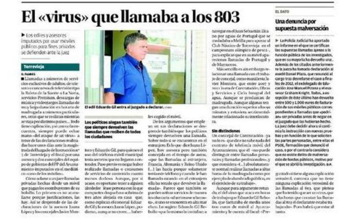 Tweet from @carlosgomezgil | Partido Popular, una visión crítica | Scoop.it