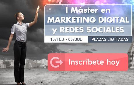 MASTER en MARKETING DIGITAL y REDES SOCIALES - MARKETING ONLINE ALICANTE 2013 | smarketivity | Scoop.it