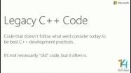 Modernizing Legacy C++ Code  (Channel 9)   EEDSP   Scoop.it
