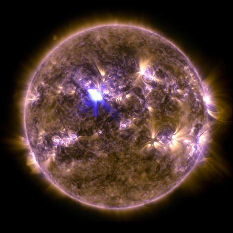 La Nasa publie l'image de l'éruption solaire la plus forte de l'année | Epic pics | Scoop.it