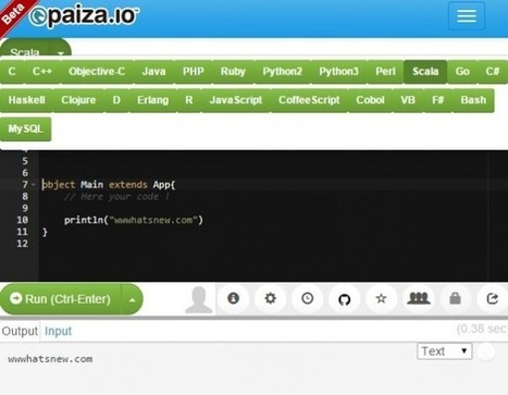 Paiza, una plataforma web para programar sin instalar nada | Herramientas Digitales para el profesorado | Scoop.it