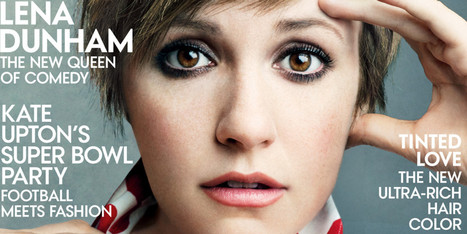 Lena Dunham's Vogue Cover Is Here And It's Beautiful | small business | Scoop.it