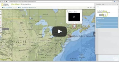 Practical Ed Tech Tip of the Week - Create, Share, & Print Thematic Maps | Into the Driver's Seat | Scoop.it