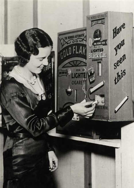Burning cigarette dispenser, 1931 | Didactics and Technology in Education | Scoop.it