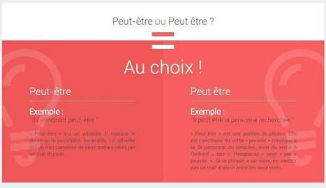 Les difficultés de la langue française, Dicoz | Le Top des Applications Web et Logiciels Gratuits | Scoop.it