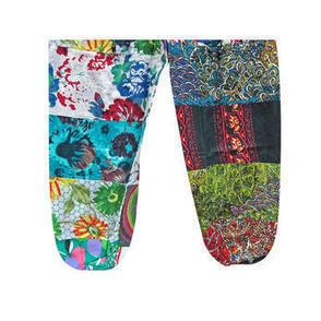 Mogulinterior Yoga Pant Cotton Patchwork Funky Multicolor Capri Pants Trouser for Womens - Clothing, Shoes & Jewelry - Clothing - Women's Clothing - Women's Regular Clothing - Women's Regular Pants... | Bohemian Harem Pant | Scoop.it