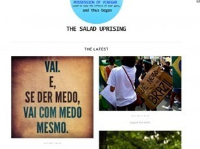 Au Brésil, la fronde antigouvenermentale s'organise sur les réseaux ... - RFI | Stratégies de communication Web 2.0 | Scoop.it