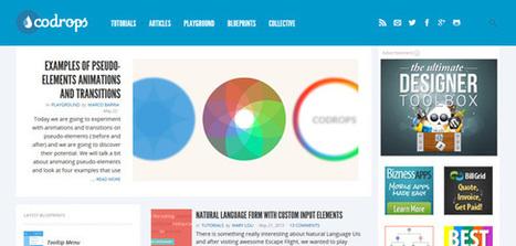 Dossier : comment apprendre le webdesign en ligne ? | WebdesignerTrends - Ressources utiles pour le webdesign, actus du web, sélection de sites et de tutoriels | My Startup | Scoop.it