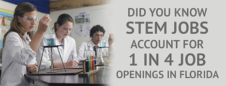Did You Know STEM Jobs Account for 1 in 4 Job Openings in Florida? - Florida Chamber of Commerce | Florida Commercial Real Estate | Scoop.it
