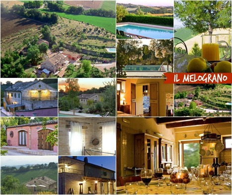 Best Le Marche Accommodations: Il Melograno, Ponzano di Fermo | Le Marche Properties and Accommodation | Scoop.it