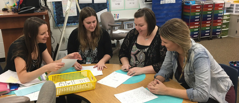 Collaborating with Colleagues: Assessment Strengthens Writers | Life as a Teacher | Scoop.it