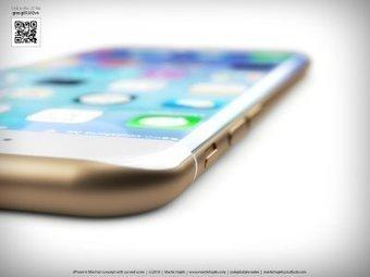 iPhone 6 : Martin Hajek imagine un concept avec écran incurvé - GAMERGEN | AV news | Scoop.it