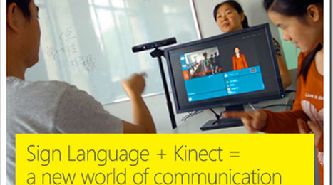Kinect Translates Sign Language | TECH NEWS, MOBILE APPS - GAMES, Virtual Reality, Unity3D | Scoop.it