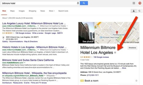 New: Google Lets You Bookmark Local Places From Search Results | SEO Tips, Advice, Help | Scoop.it