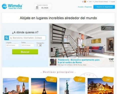 Wimdu, reserva alojamientos privados por todo el mundo | Redes Sociales ES | Scoop.it
