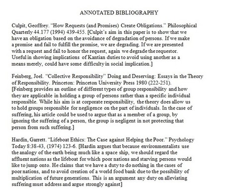 How to create an annotated bibliography | Zotero | Scoop.it