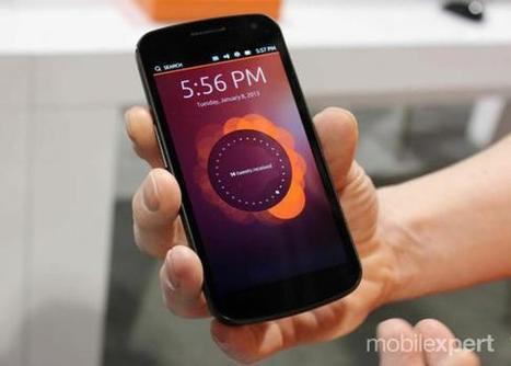 Canonical confirma sistema Ubuntu Touch para outubro | Tech Maker | Scoop.it