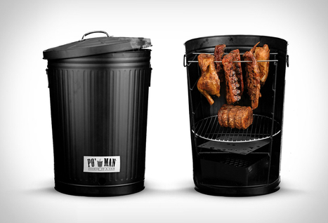 Po Man Charcoal BBQ Grill | Stuff we drool about... | Scoop.it