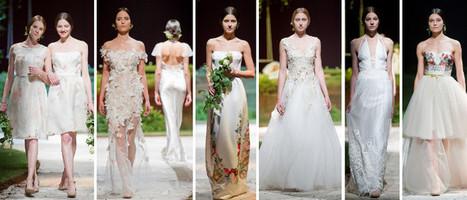 Wedding Magazine - 50 years of Pronovias wedding dresses | a la mode | Scoop.it