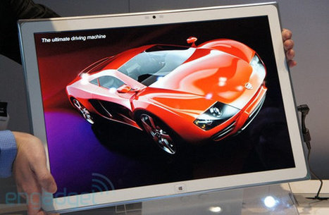 Panasonic Unveils 20″ Tablet With 4K Resolution | Embedded Systems News | Scoop.it