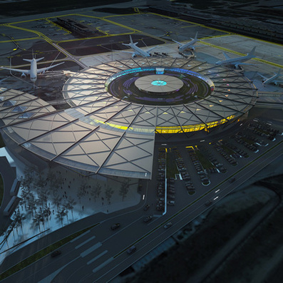 Rogers Stirk Harbour + Partners appointed to design NEW terminal at Lyon-Saint Exupéry Airport | 360° design | Scoop.it