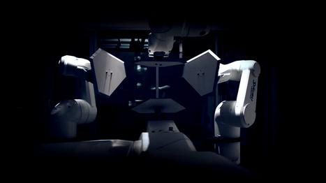 L'art s'empare des robots industriels   Digital art   Scoop.it