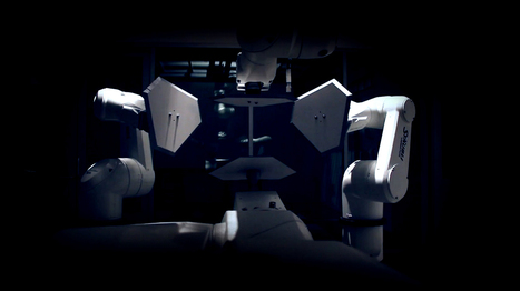 L'art s'empare des robots industriels | Geekeries | Scoop.it