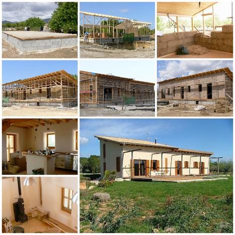 Bioconstrucción: Como construir una casa de paja   tecno4   Scoop.it