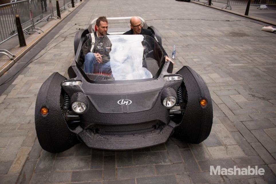 I Drove a 3D Printed Car | 3D printing | Scoop.it