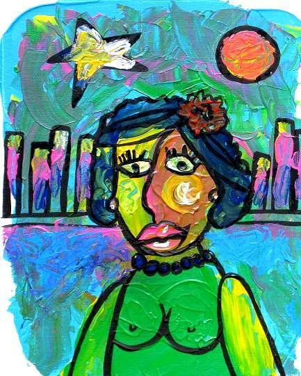 """""""Woman of the Nigth"""" by Patricia Quinche 