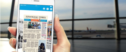 Media app van KLM vervangt papier tijdens de vlucht - Blokboek - Communication Nieuws | BlokBoek e-zine | Scoop.it