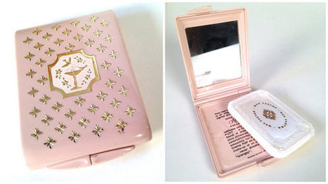 vintage powder compact with mirror | Chummaa...therinjuppome! | Scoop.it