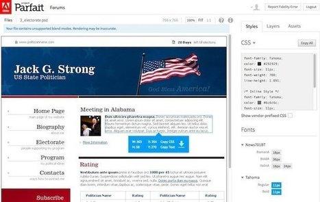 Adobe Parfait - Un outil pour extraire les images et la CSS de fichiers PSD - Korben   Au fil du Web   Scoop.it