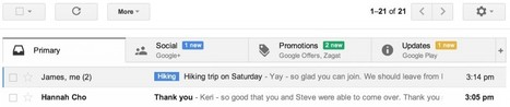 Nuevo Inbox de Gmail.- | Google+, Pinterest, Facebook, Twitter y mas ;) | Scoop.it